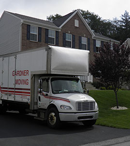 Gardner Moving Company Truck