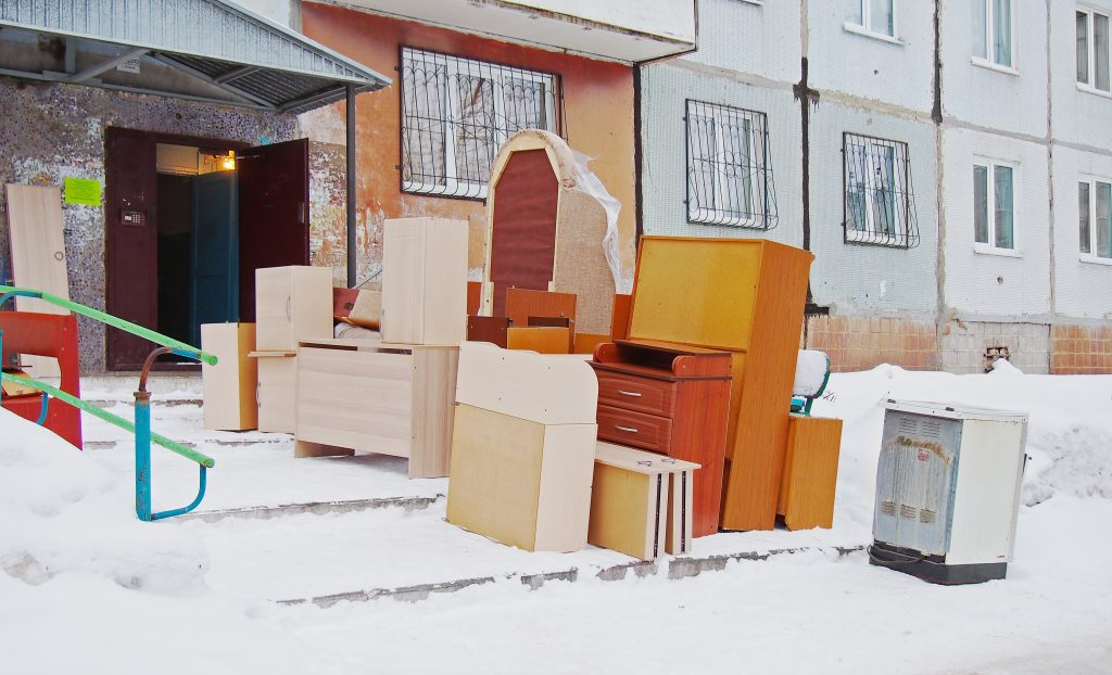 Moving Furniture in the Winter